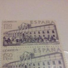 Sellos: 2 SELLOS DE CASA DE MONEDA DE CHILE DE 1,50 PTAS - FNMT 1969. Lote 53908383