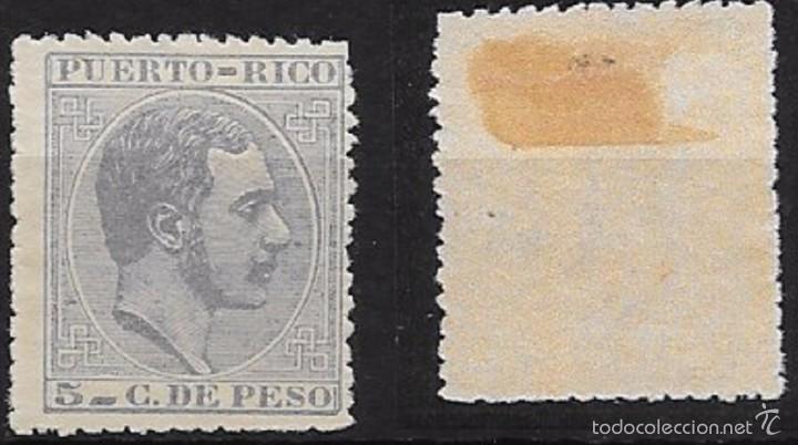 EX COLONIA ESPAÑOLA EDIFIL Nº 59 (*) (Sellos - España - Colonias Españolas y Dependencias - América - Puerto Rico)