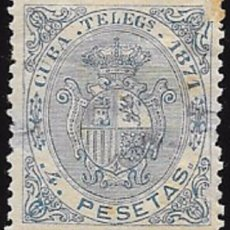 Sellos: EX COLONIA ESPAÑOLA TELÉGRAFO EDIFIL Nº 19 (*). Lote 57365022