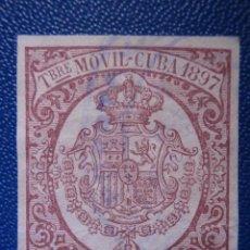 Sellos: FISCALES, TIMBRE MOVIL - CUBA - 1897 - 5 CÉNTIMOS DE PESO -. Lote 57636518