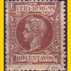 Timbres: CUBA 1898 ALFONSO XIII, EDIFIL Nº 171 (O). Lote 58319979