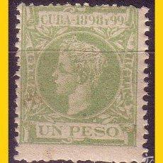 Timbres: CUBA 1898 ALFONSO XIII, EDIFIL Nº 172 * *. Lote 58320009