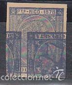 X 21 ALFONSO XII AÑO 1878 (ERROR DE IMPRESIÓN) (Sellos - España - Colonias Españolas y Dependencias - América - Puerto Rico)