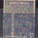 Sellos: X 21 ALFONSO XII AÑO 1878 (ERROR DE IMPRESIÓN). Lote 59574187