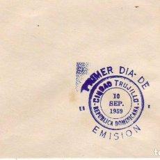 Sellos: REPUBLICA DOMINICANA-CIUDAD TRUJILLO 1959. Lote 61528991