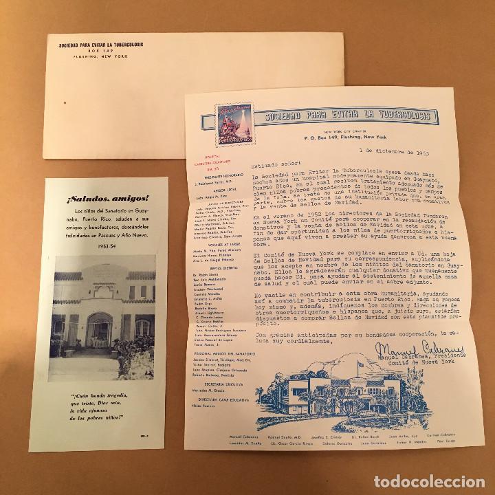 PLANCHA COMPLETA - 72 SELLOS - SOCIEDAD PARA EVITAR LA TUBERCULOSIS - PUERTO RICO - NAVIDAD - 1953 (Sellos - España - Colonias Españolas y Dependencias - América - Puerto Rico)