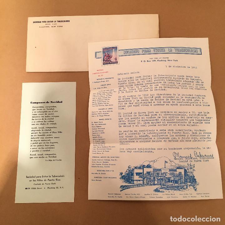 Sellos: PLANCHA COMPLETA - 72 SELLOS - SOCIEDAD PARA EVITAR LA TUBERCULOSIS - PUERTO RICO - NAVIDAD - 1953 - Foto 5 - 70426334