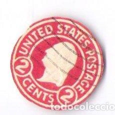Sellos: RARISIMO SELLO *UNITED STATES POSTAGE 2 CENTS. Lote 64557691