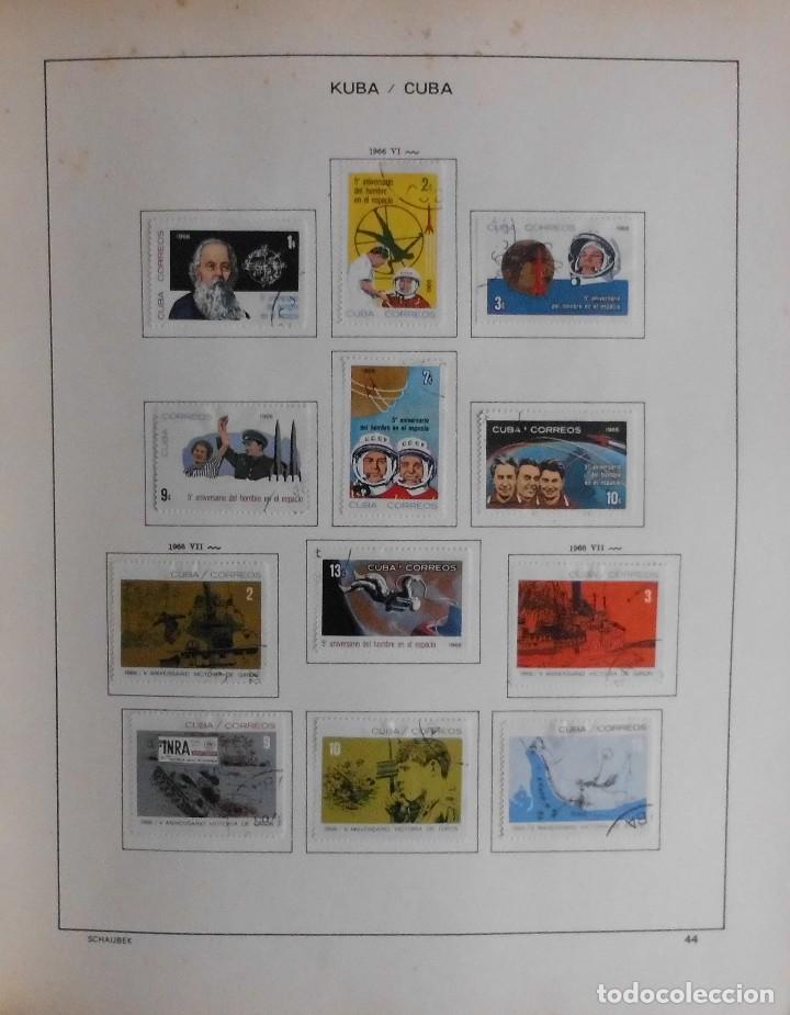 Sellos: COLECCIÓN CUBA 1959 A 1974 ALBUM DE SELLOS, ÁLBUM SCHAUBEK - Foto 45 - 67036774