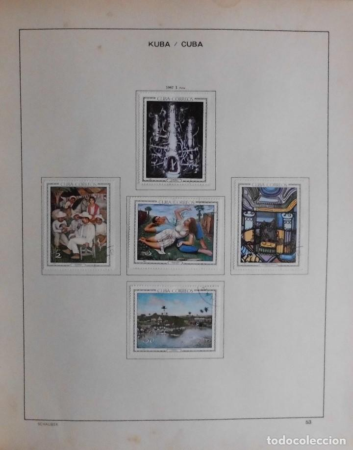 Sellos: COLECCIÓN CUBA 1959 A 1974 ALBUM DE SELLOS, ÁLBUM SCHAUBEK - Foto 54 - 67036774