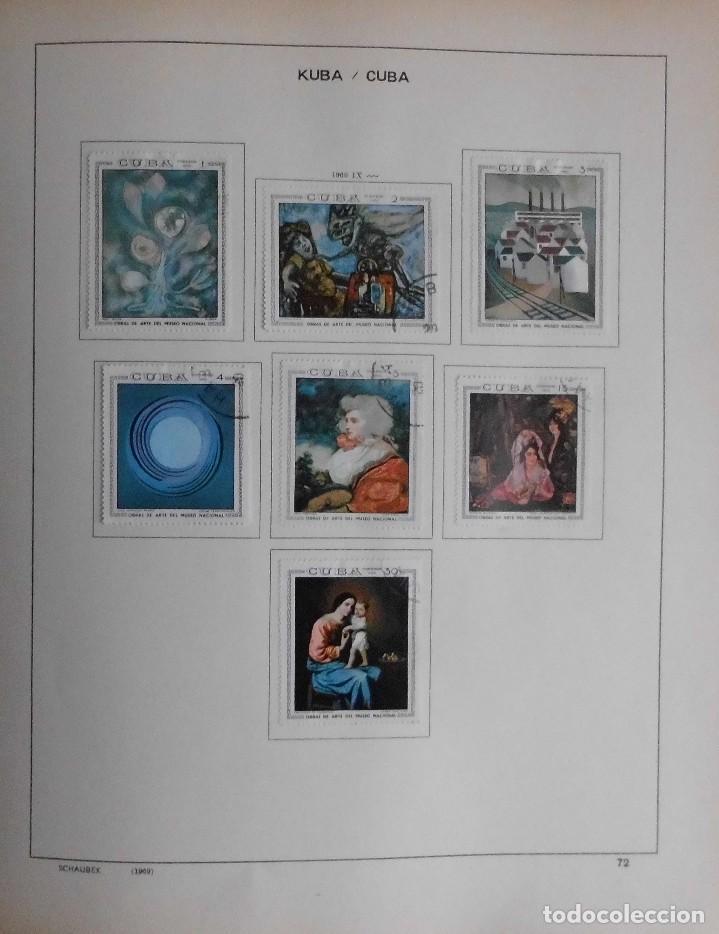 Sellos: COLECCIÓN CUBA 1959 A 1974 ALBUM DE SELLOS, ÁLBUM SCHAUBEK - Foto 73 - 67036774