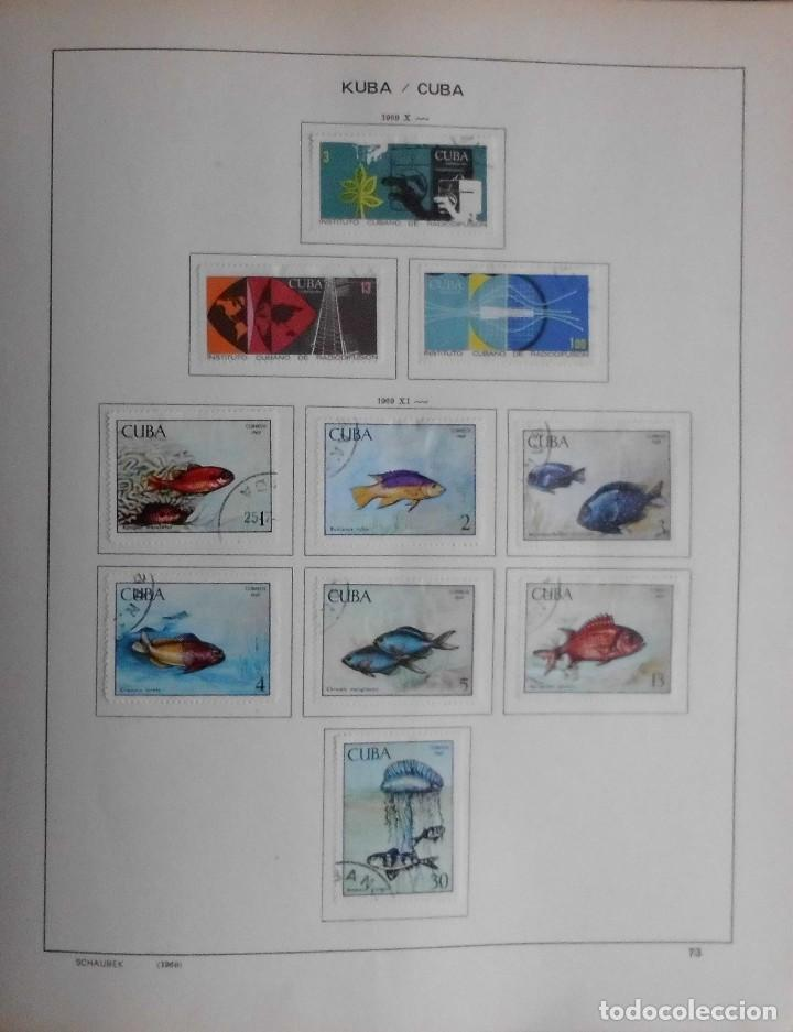 Sellos: COLECCIÓN CUBA 1959 A 1974 ALBUM DE SELLOS, ÁLBUM SCHAUBEK - Foto 74 - 67036774