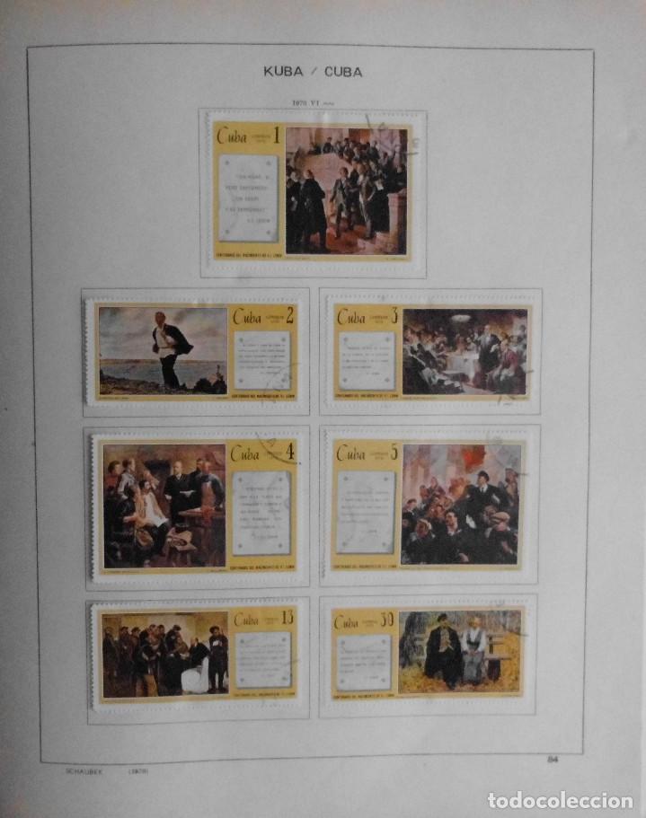 Sellos: COLECCIÓN CUBA 1959 A 1974 ALBUM DE SELLOS, ÁLBUM SCHAUBEK - Foto 85 - 67036774
