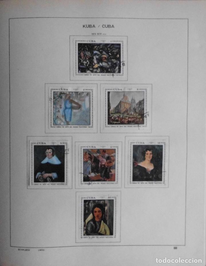 Sellos: COLECCIÓN CUBA 1959 A 1974 ALBUM DE SELLOS, ÁLBUM SCHAUBEK - Foto 89 - 67036774