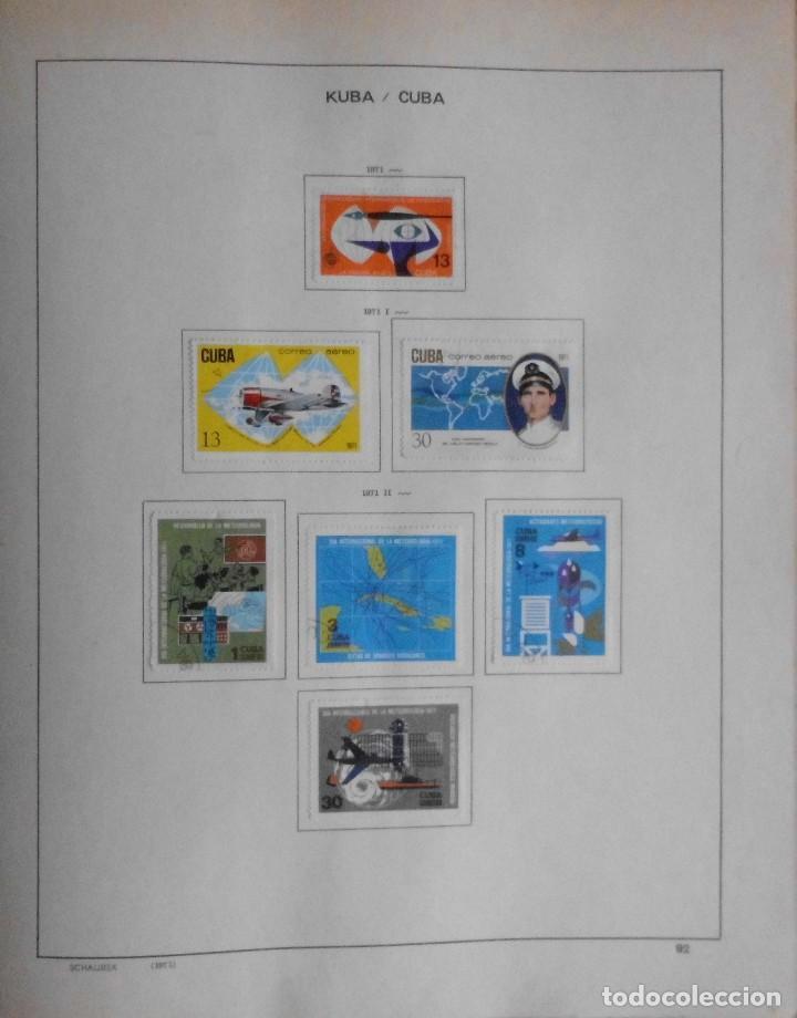 Sellos: COLECCIÓN CUBA 1959 A 1974 ALBUM DE SELLOS, ÁLBUM SCHAUBEK - Foto 93 - 67036774