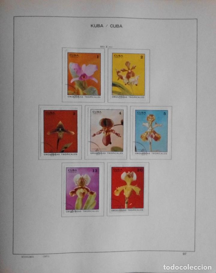 Sellos: COLECCIÓN CUBA 1959 A 1974 ALBUM DE SELLOS, ÁLBUM SCHAUBEK - Foto 98 - 67036774