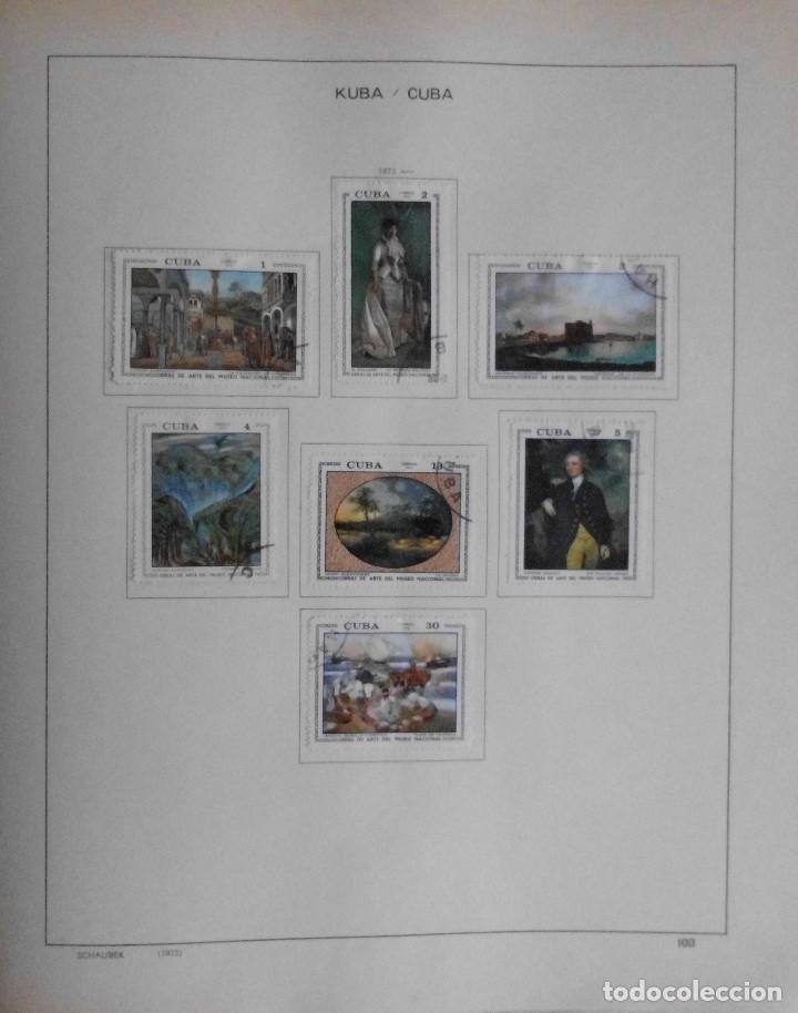 Sellos: COLECCIÓN CUBA 1959 A 1974 ALBUM DE SELLOS, ÁLBUM SCHAUBEK - Foto 104 - 67036774
