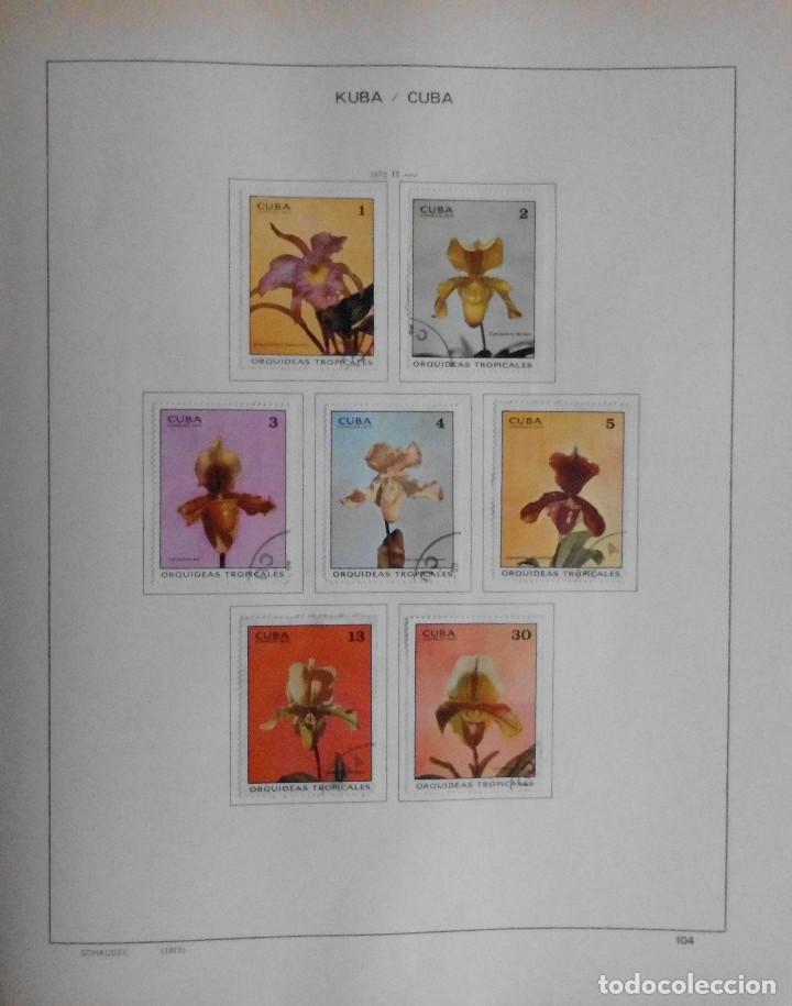 Sellos: COLECCIÓN CUBA 1959 A 1974 ALBUM DE SELLOS, ÁLBUM SCHAUBEK - Foto 105 - 67036774