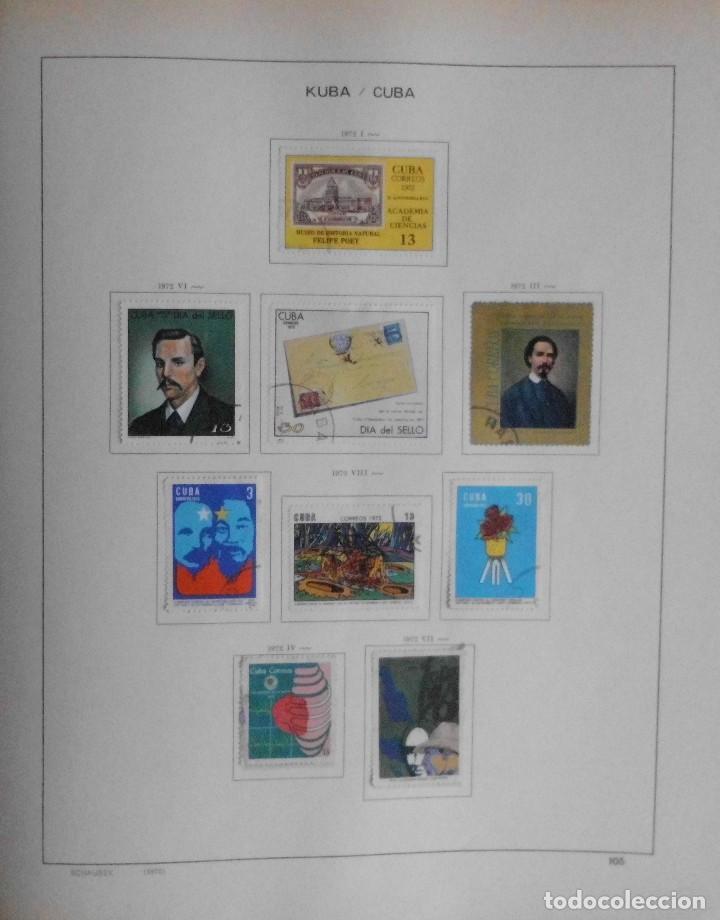 Sellos: COLECCIÓN CUBA 1959 A 1974 ALBUM DE SELLOS, ÁLBUM SCHAUBEK - Foto 106 - 67036774
