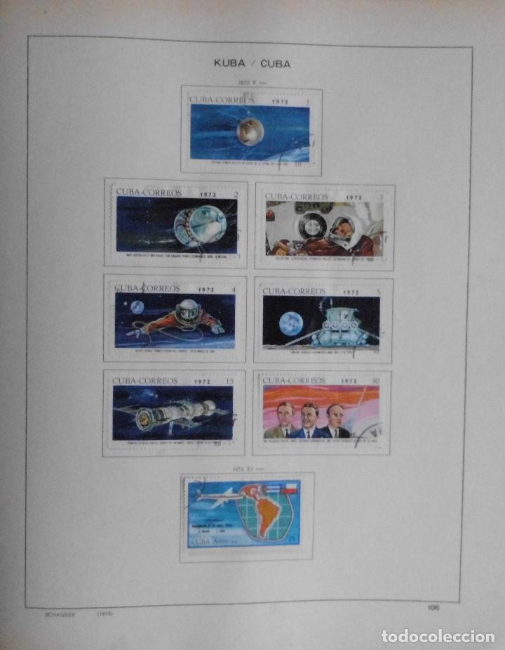 Sellos: COLECCIÓN CUBA 1959 A 1974 ALBUM DE SELLOS, ÁLBUM SCHAUBEK - Foto 107 - 67036774