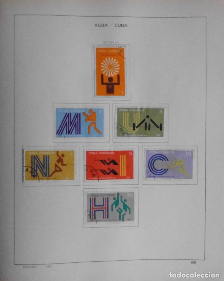 Sellos: COLECCIÓN CUBA 1959 A 1974 ALBUM DE SELLOS, ÁLBUM SCHAUBEK - Foto 110 - 67036774