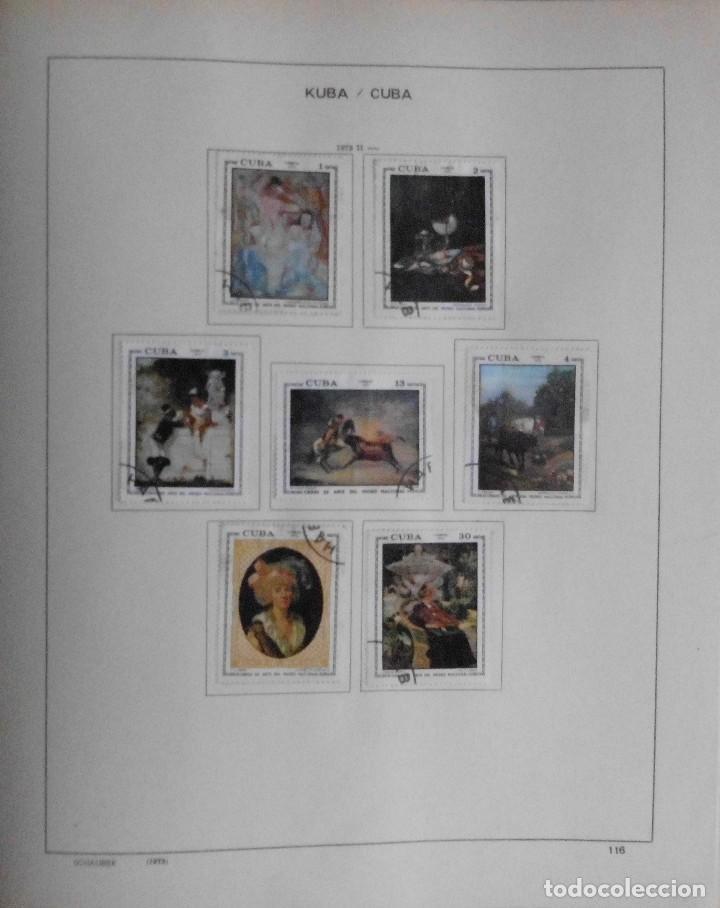Sellos: COLECCIÓN CUBA 1959 A 1974 ALBUM DE SELLOS, ÁLBUM SCHAUBEK - Foto 117 - 67036774