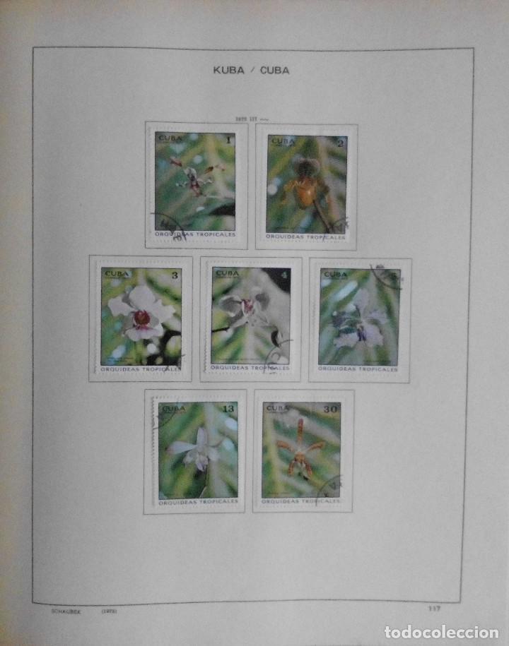 Sellos: COLECCIÓN CUBA 1959 A 1974 ALBUM DE SELLOS, ÁLBUM SCHAUBEK - Foto 118 - 67036774