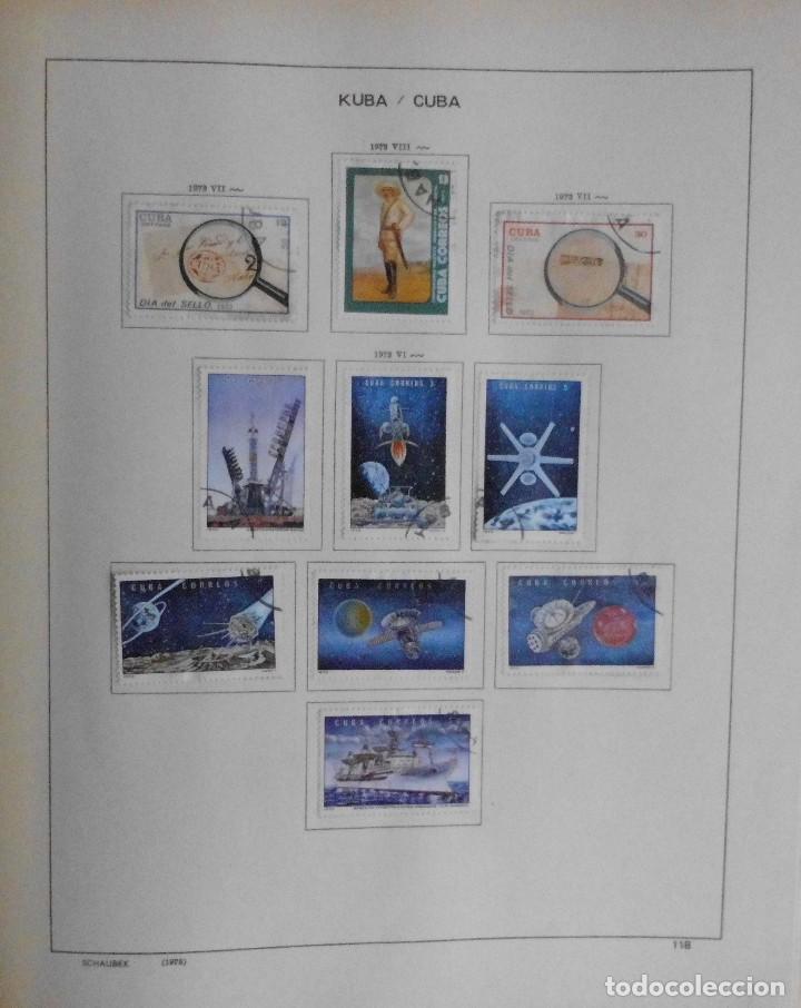 Sellos: COLECCIÓN CUBA 1959 A 1974 ALBUM DE SELLOS, ÁLBUM SCHAUBEK - Foto 119 - 67036774