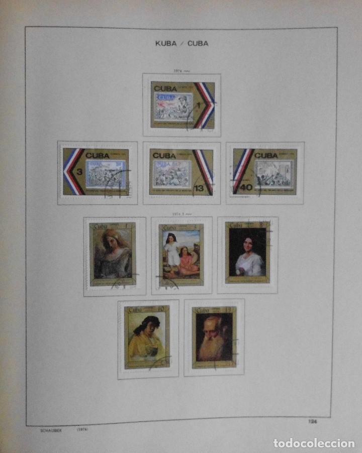 Sellos: COLECCIÓN CUBA 1959 A 1974 ALBUM DE SELLOS, ÁLBUM SCHAUBEK - Foto 125 - 67036774