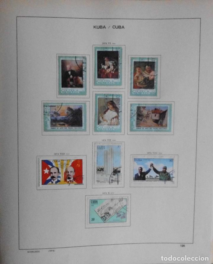 Sellos: COLECCIÓN CUBA 1959 A 1974 ALBUM DE SELLOS, ÁLBUM SCHAUBEK - Foto 127 - 67036774