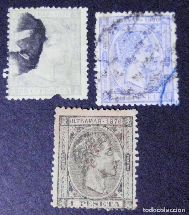 SELLO DE CUBA - ESPAÑA - DEPENDENCIAS POSTALES 1876 (Sellos - España - Colonias Españolas y Dependencias - América - Cuba)