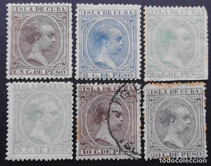 CUBA - ESPAÑA DEPENDENCIAS POSTALES 1890 (Sellos - España - Colonias Españolas y Dependencias - América - Cuba)