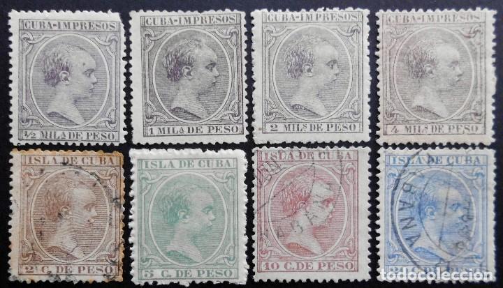 CUBA - ESPAÑA - DEPENDENCIAS POSTALES 1891 -1892 (Sellos - España - Colonias Españolas y Dependencias - América - Cuba)