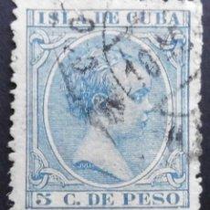 Sellos: CUBA - ESPAÑA - DEPENDENCIAS POSTALES 1896 - 1897. Lote 68944277