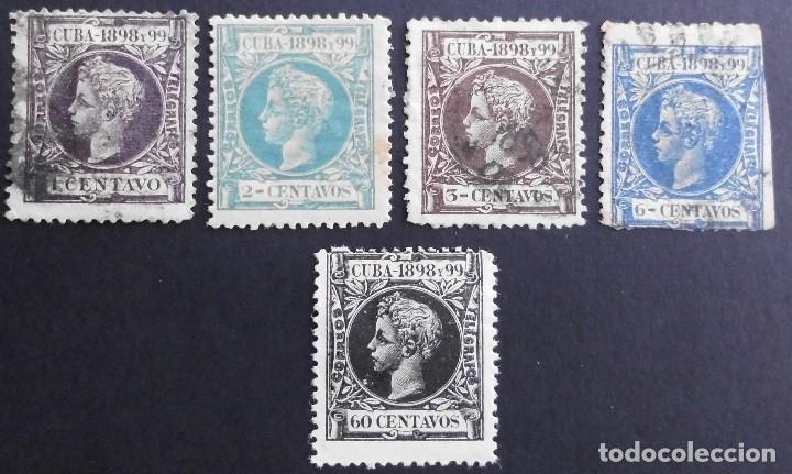 CUBA - ESPAÑA - DEPENDENCIAS POSTALES 1898 (Sellos - España - Colonias Españolas y Dependencias - América - Cuba)