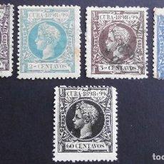 Sellos: CUBA - ESPAÑA - DEPENDENCIAS POSTALES 1898. Lote 68944929