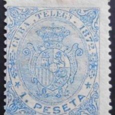 Sellos: CUBA - ESPAÑA - DEPENDENCIAS POSTALES 1872 - TELEGRAFOS. Lote 68945313