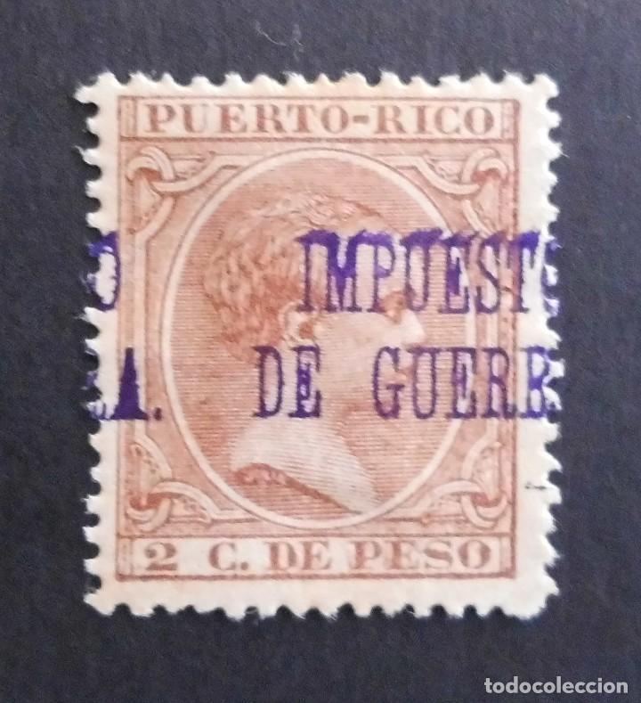 PUERTO RICO - ESPAÑA - COLONIAS ESPAÑOLAS Y DEPENDENCIAS POSTALES 1898 IMPUESTO DE GUERRA (Sellos - España - Colonias Españolas y Dependencias - América - Puerto Rico)