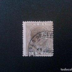 Sellos: CUBA Nº 84 MATASELLADO MUY BONITO. Lote 70065041
