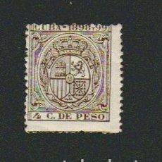 Sellos: CUBA.FISCAL.1898 Y 99.--4 C.DE PESO.. Lote 74897027