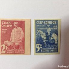 Sellos: CUBA 1939 GENERAL CALIXTO SIN DENTAR. Lote 75783535