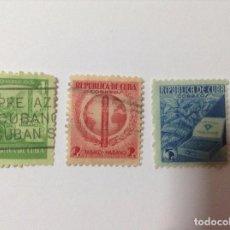 Sellos: CUBA 1939 PROPAGANDA TABACO CUBANO. Lote 75784011