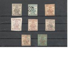 Sellos: SELLOS FISCALES, DOCUMENTOS DE POLICIA ENERO DE 1879. Lote 80744038