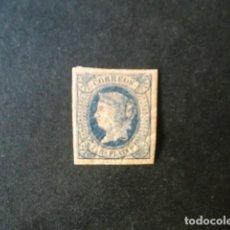Sellos: ANTILLAS,CUBA,1864,ISABEL II,EDIFIL 11*,NUEVO CON SEÑAL FIJASELLO,(LOTE AB). Lote 83676388