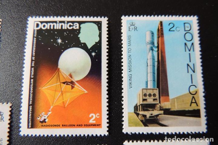 Sellos: 11 sellos Dominica perfecto estado - Foto 2 - 84130488