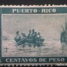 Sellos: PUERTO RICO , EDIFIL Nº 101 , NUEVO SIN GOMA. Lote 87425724