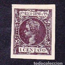 Sellos: EDIFIL 135 (1898) SIN DENTAR. Lote 89200904