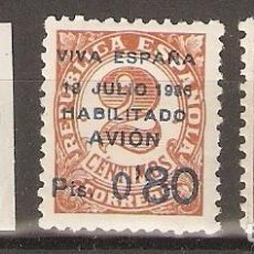 Sellos: CANARIAS 1936 EDIFIL 1/3* MLH. Lote 90087104
