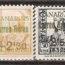 Sellos: CANARIAS 1938 EDIFIL 40/43* MLH. Lote 90087920