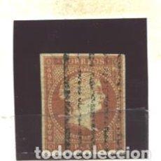 Sellos: ANTILLAS 1855 - EDIFIL NRO. 3 - ISABEL II - 2 R. - USADO. Lote 95085335